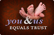 You & Us Equals Trust